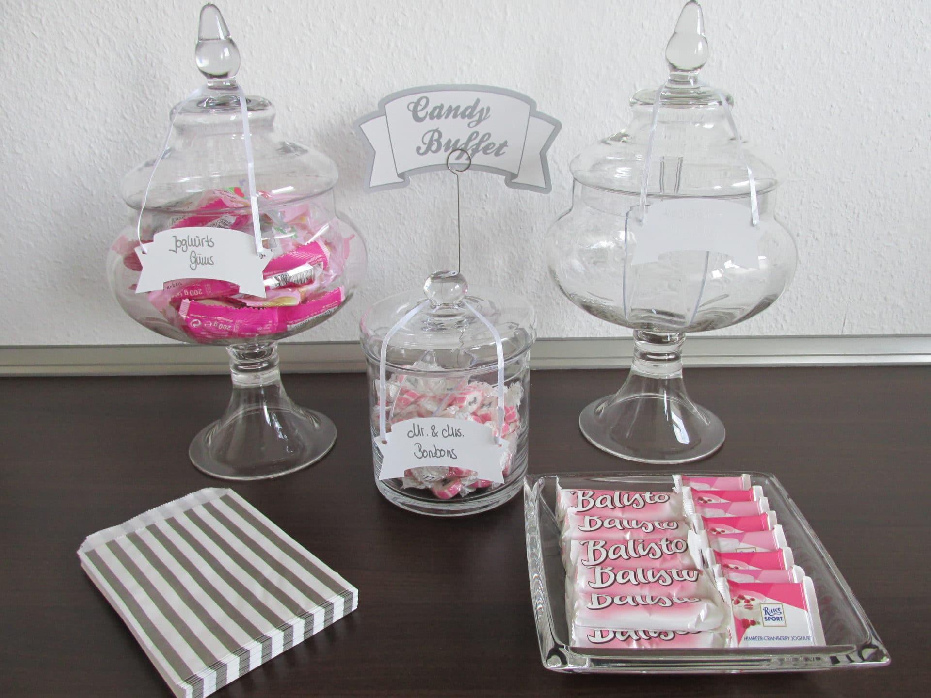 BrautZILLA on Tour!!! Die Candy Bar… etwas süßes für die Gäste ...