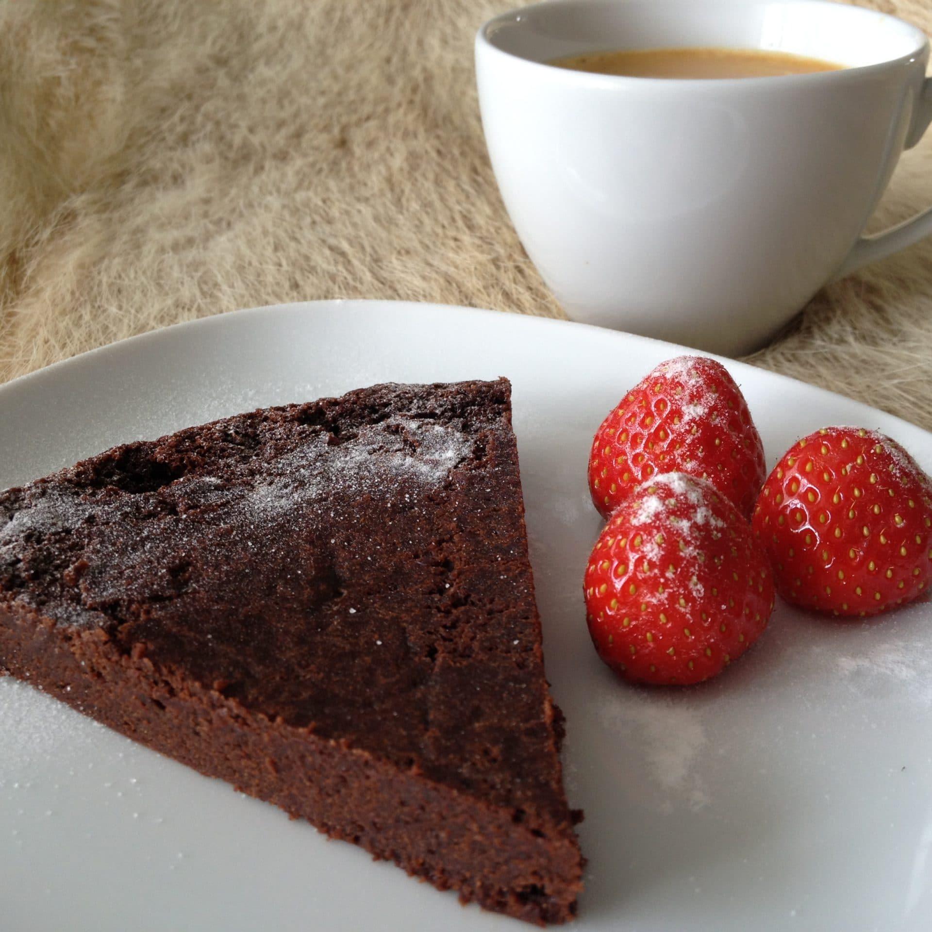 Italienische schokolade kuchen