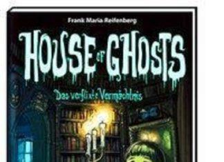 House of Ghosts ist der Auftakt zu einer spannenden Serie. In der es um eine alte Villa, ein Vermächtnsi und natürlich Geister geht.