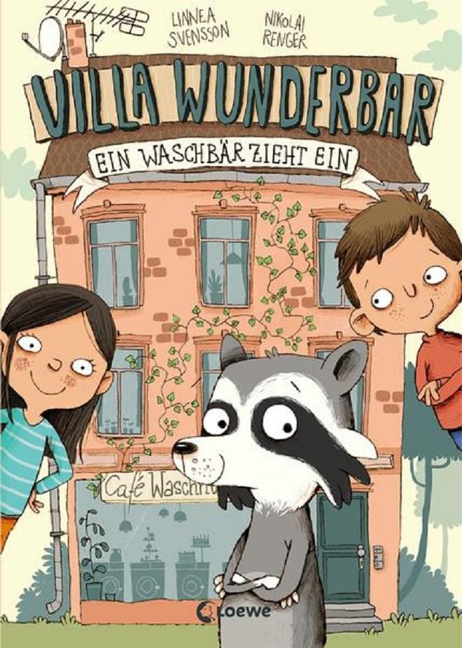 Villa Wunderbar ist ein wunderschönes Kinderbuch. In diesem dreht sich alles um einen Waschsalon und einem sprechenden Waschbären.