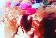 Geburtstagstorte mit dreierlei Füllungen, nicht nur für Schokoladenjunkies... für absolut jeden!