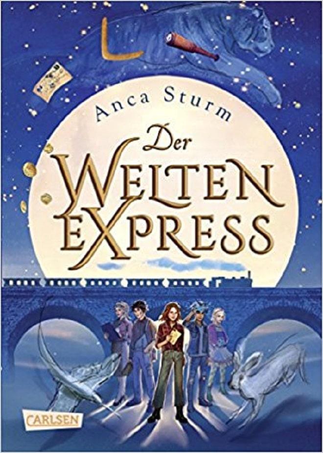 Der Weltenexpress nimmt uns mit auf eine abenteuerliche Reise. Ein fahrendes Internat, mit Magietechnologie betrieben und einem großen Geheimnis.