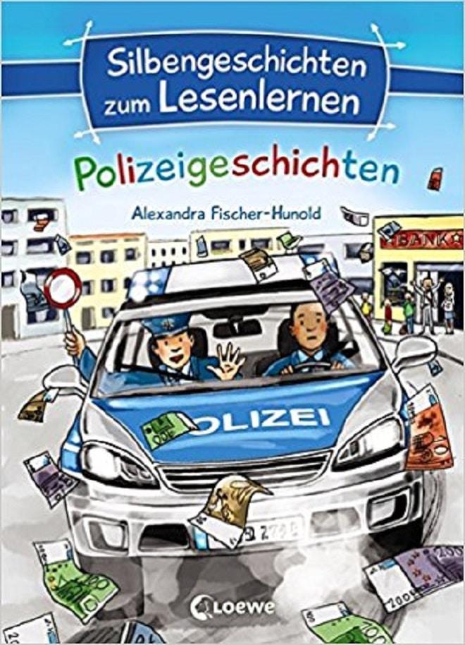 Silbengeschichten Polizei ist wunderbar für Erstleser zum lesen lernen. Es unterstützt und motiviert gleichermaßen. Erfolge sind schnell sichtbar.