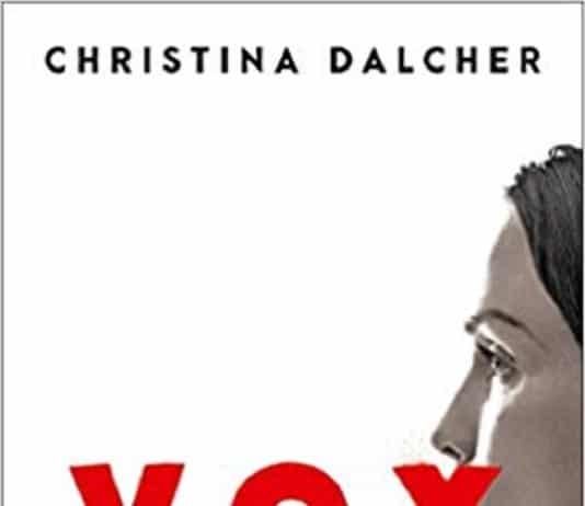VOX, ist ein Buch in dem Frauen pro Tag 100 Wörter sprechen dürfen. Indem ihnen alles genommen wird, außer die Hausarbeit und die Familie.