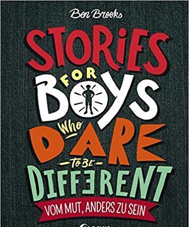 Stories for boys, ist kein Roman, kein Jugendbuch, sondern ein Buch welches zeigt, was manche Männer erreicht haben, weil sie mit ihrer Andersartigkeit Erfolg hatten. Stories die bewegen, die informieren und gleichzeitig Mut machen.